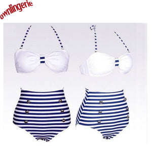 Two Piece High Waist Bikini Swimsuit