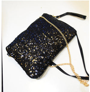 Cool Lux Punk Sequin Bag