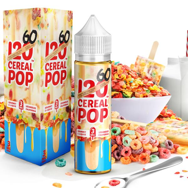 120 CEREAL POP BY MAD HATTER JUICE 60ML