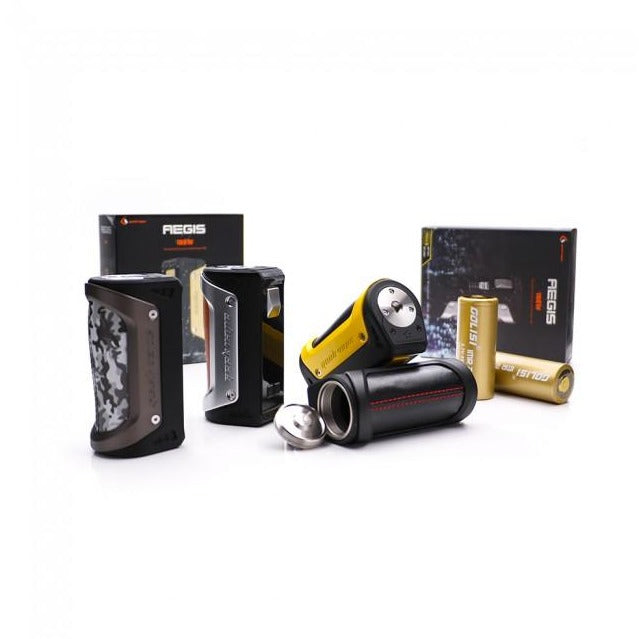 AEGIS 100W TC BOX MOD BY GEEK VAPE