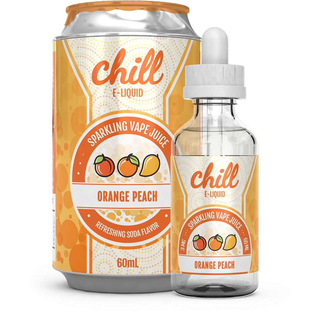ORANGE PEACH BY CHILL E-LIQUIDS 60ML