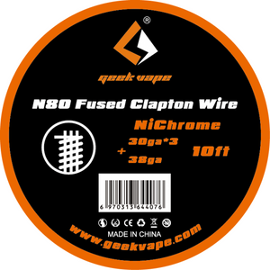 N80 FUSED CLAPTON WIRE BY GEEK VAPE