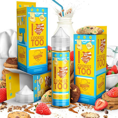 I LOVE COOKIES TOO BY MAD HATTER JUICE 60ML