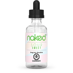 SOUR SWEETS BY NAKED100 60ML