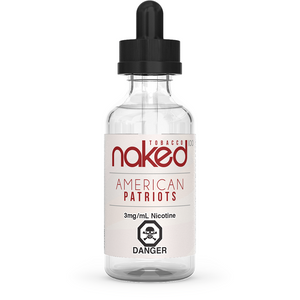AMERICAN PATRIOTS BY NAKED100 60ML