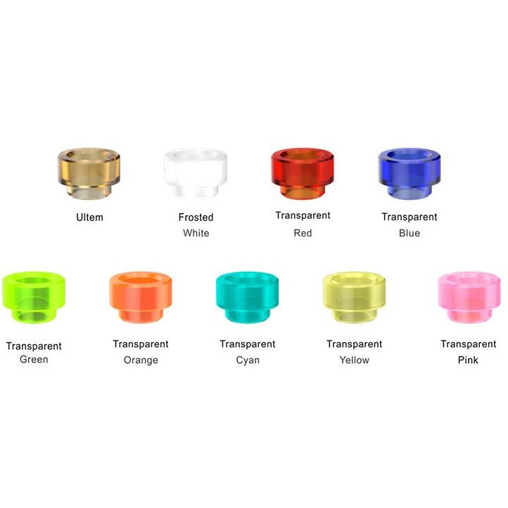 PULSE BF TRANSPARENT DRIP TIPS BY VANDY VAPE