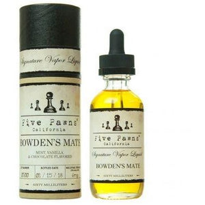 BOWDENS MATE BY FIVE PAWNS 30ML OR 60ML