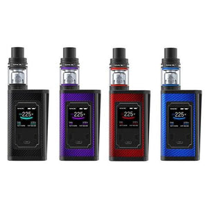 SMOK MAJESTY CARBON FIBER STARTER KIT WITH TFV8 X BABY TANK