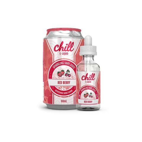 RED BERRY BY CHILL E LIQUID 60ML