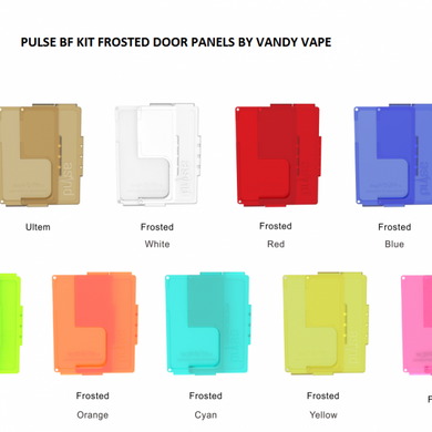 PULSE BF KIT FROSTED DOOR PANELS BY VANDY VAPE
