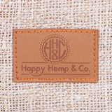 Logo HH&C on Vegan Faux leather patch