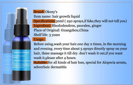 OKENY'S fast hair growth products - 30ml