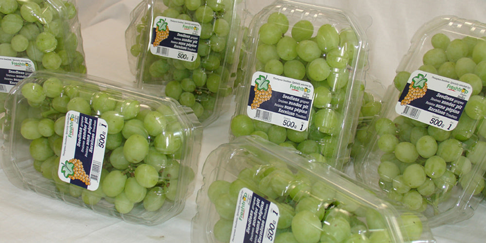 Pioneered Punnet Packing of Grapes