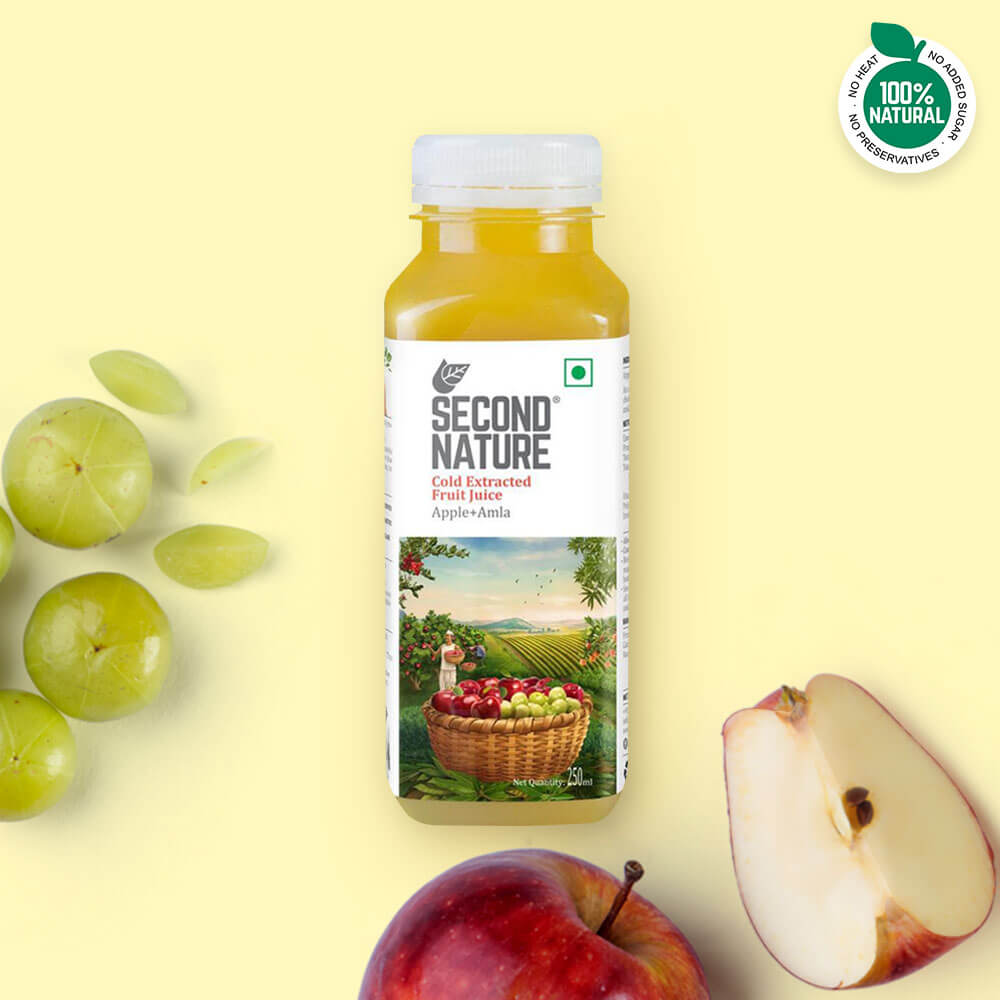Apple + Amla - Juices - Second Nature
