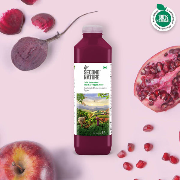 Beet + Pomegranate + Apple - 1L