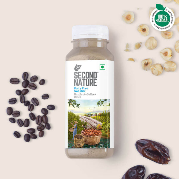Hazelnut + Coffee + Dates - Nut Milks - Second Nature