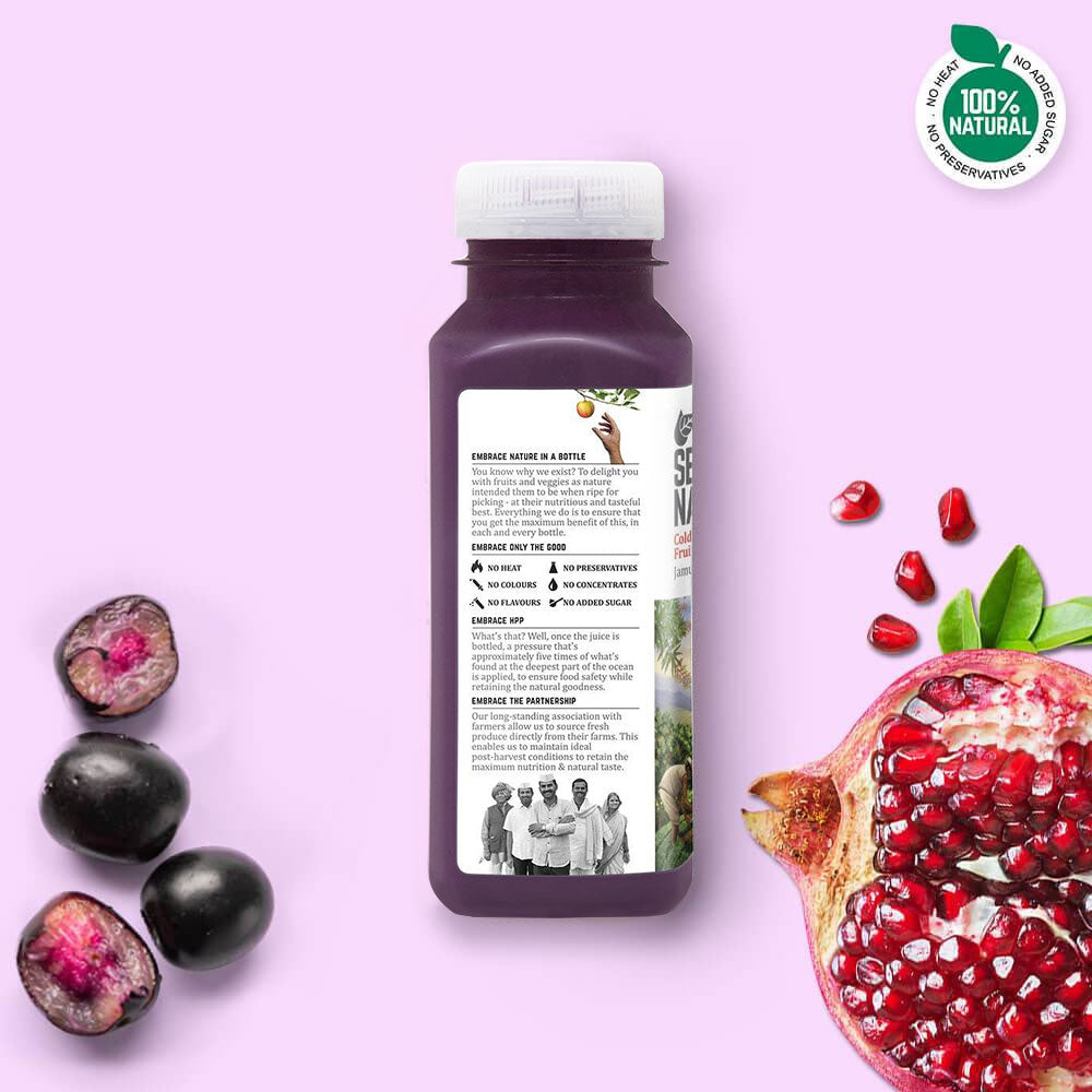 Jamun + Pomegranate - Juices - Second Nature