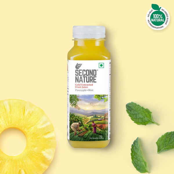 Pineapple + Mint - Juices - Second Nature