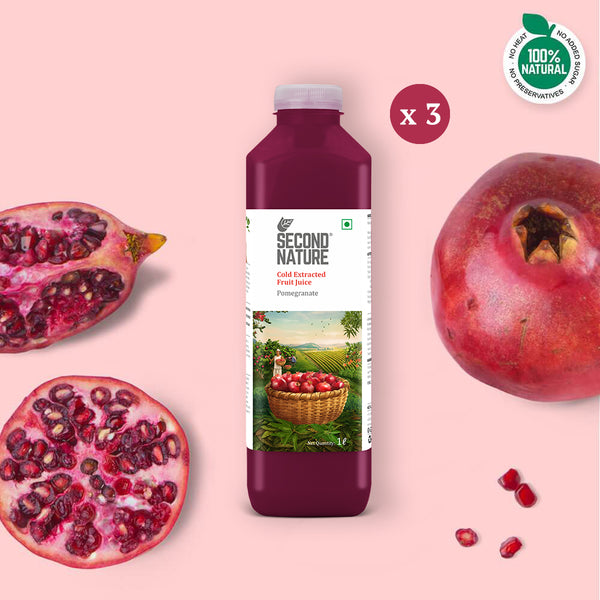 Pomegranate - Pack of 3 (1L)