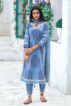 Aster Blue Suit Set