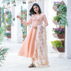 Hibiscus Embroidered Suit Set