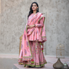 Rose Pink Sharara Set