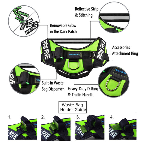 Heavy Duty Dog Harness 2
