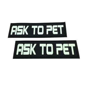 paw five core-1 harness ask to pet patch angle 2