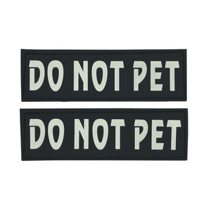 DO NOT PET Velcro Patch (Glow in the Dark)