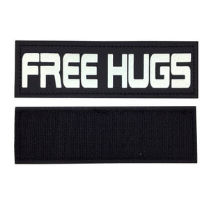 paw five core-1 harness free hugs patch angle 4