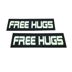 paw five core-1 harness free hugs patch angle 2