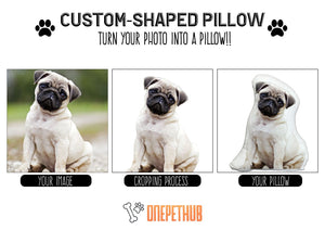 Paw Five Custom Plush Pillow - [Deluxe Edition]