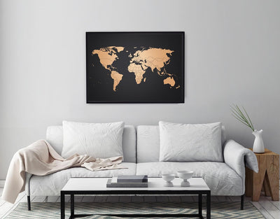 image of interior design ideas copper map
