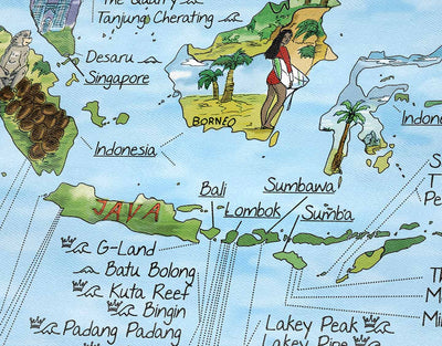 image of best surf spots in indo