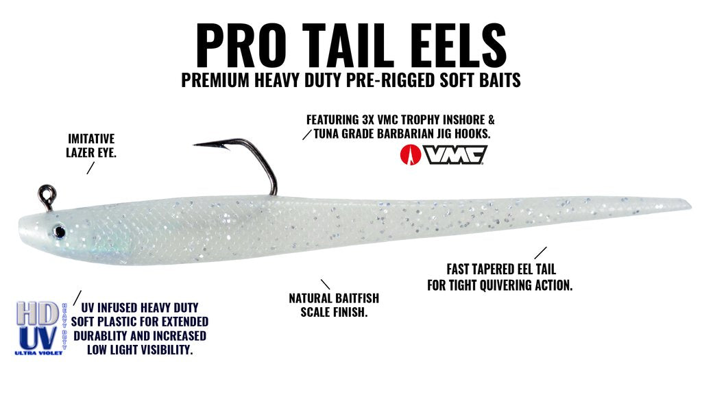 Hogy Pro Tail HD Eel diagram
