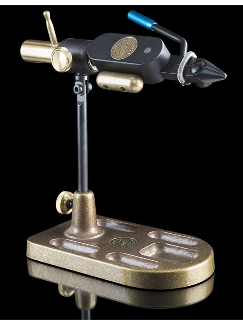 Regal Big Game Full Rotary Vise With Bronze Pedestal Base