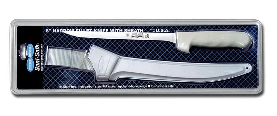 Dexter Sani-Safe Narrow Fillet Knives with Sheath