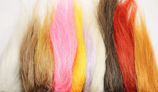 Synthetic fly tying material, available in many colors.