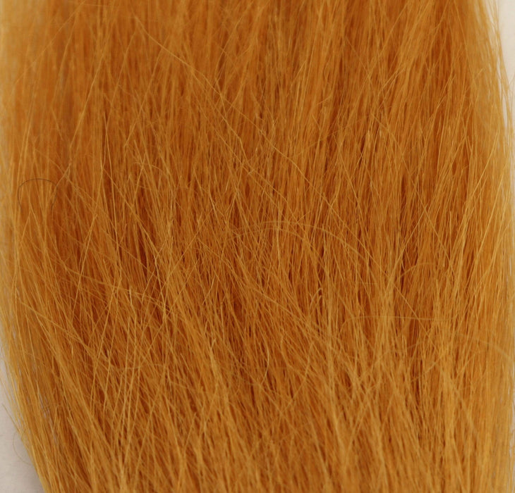 Amber color fly tying material