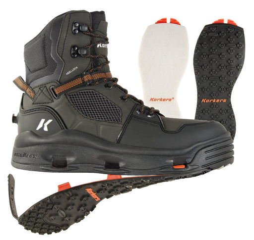 Korkers Terror Ridge Wading Boot (Felt & Cling on Soles)