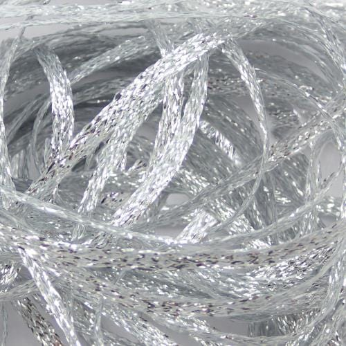 Flat Diamond Braid (Silver - #344)