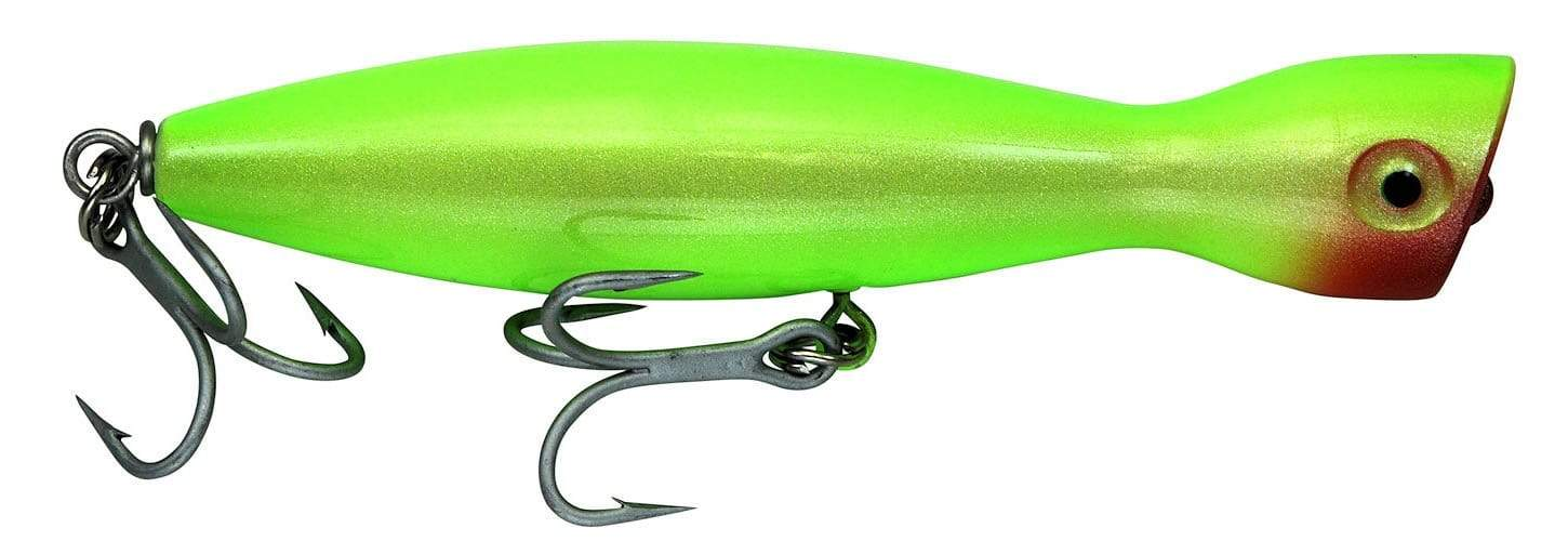 Super Strike Little Neck Popper All Neon Green