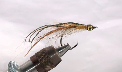 Steve Cook's Bright Eyed Bay Anchovy Size 1/0