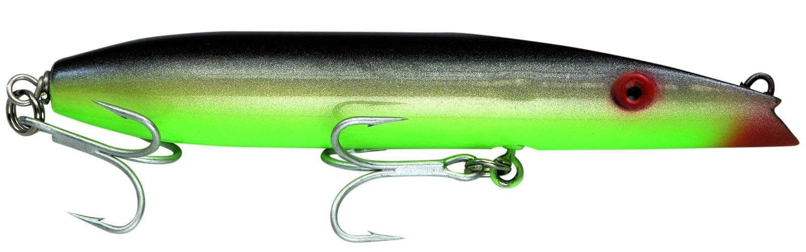 Super Strike Black Chartreuse Zig Zag Darter