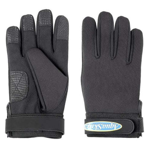 Aquaskinz Black Thunder Gloves