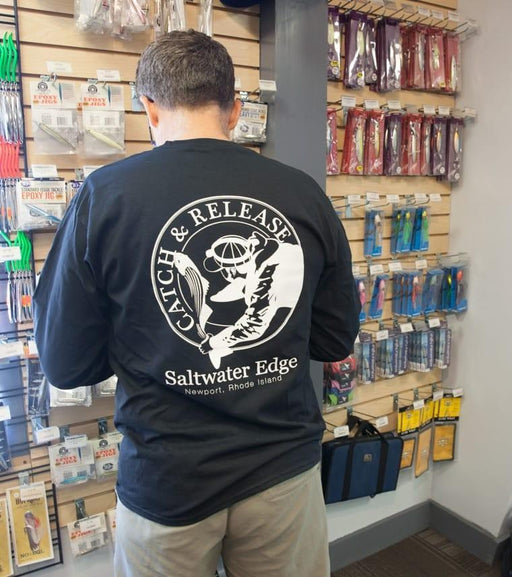 Saltwater Edge Catch and Release Longsleeve T-Shirts