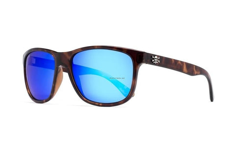 Calcutta Catalina Sunglasses (Tort Frame/Blue Mirror Lens) CT1BMTORT