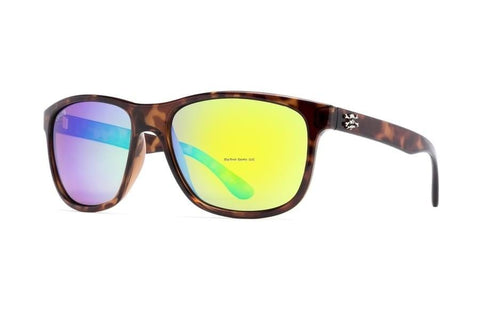 Calcutta Catalina Sunglasses (Tort Frame/Green Mirror Lens) CT1GMTORT