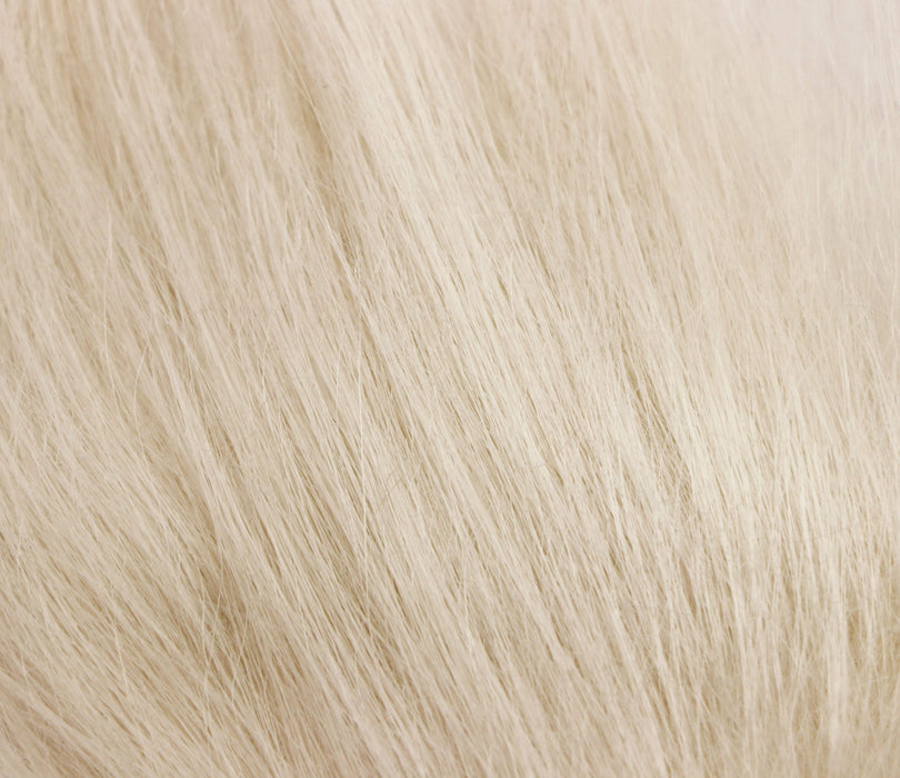 ghost white color fly tying material