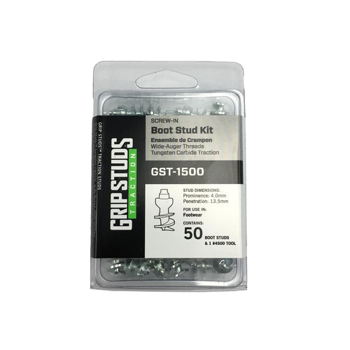 Grip Studs #1500 Boot Kit (50 Studs with Power Install Tool)